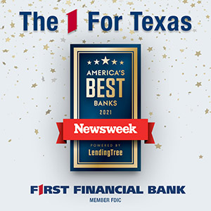 Photo for First Financial Bank Named One of America's Best Banks by Newsweek